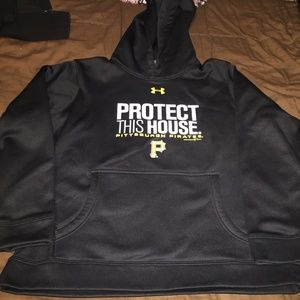 Kids Pittsburgh Pirates Under Armour Hoodie YMD